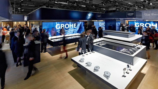 ISH Grohe Messestand