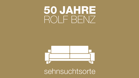 03 2014 50 jahre rolf benz teil 1 lifestyle tv magazin. Black Bedroom Furniture Sets. Home Design Ideas